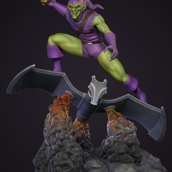 Download 3D printer files Green Goblin on Glider , carlos26