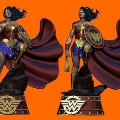 IMG_1538 2.JPG Download STL file Wonder Woman Classic Justice League DC Comics 3d print  • 3D printing model, carlos26