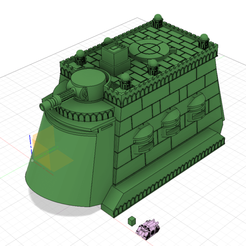 Download free 3D printer model Epically Small Capitol City Sized Mobile Fortress, mad_magician