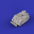 Download free STL Epically Tiny Martian Feral Pig Turret Proxy, mad_magician