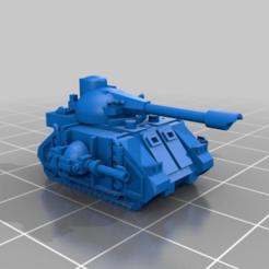 Descargar modelos 3D gratis El épico y diminuto tanque depredador marciano, mad_magician
