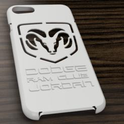 Download 3D print files Case Iphone 7/8 Dodge, 3dokinfo