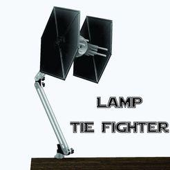 Lamp tie fighter ok.jpg Télécharger fichier STL Lamp Tie Fighter - star wars • Plan pour imprimante 3D, 3dokinfo