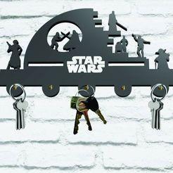 Descargar archivos STL Key Holder Star wars, 3dokinfo