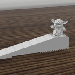 stopprt.png Download STL file baby yoda door stop • Design to 3D print, 3dokinfo
