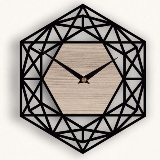 Afbeeldingsresultaat voor clock lasercut