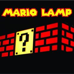 Lampra Mario portada 2.jpg Download STL file Mario Bros Lamp • 3D printable design, 3dokinfo