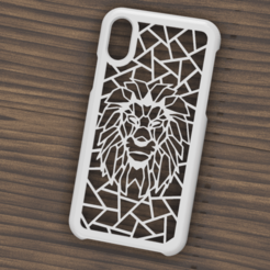 Télécharger STL Etui Iphone X/XS Lion, 3dokinfo