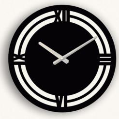 reloj portaa5.png Télécharger fichier STL HORLOGE MODERNE POUR L'IMPRESSION 3D ET LA DÉCOUPE LASER • Objet pour impression 3D, 3dokinfo