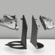 Télécharger fichier 3D porte-livre star wars - millennium falcon, 3dokinfo