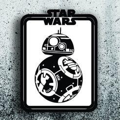 Télécharger fichier STL Image Star Wars - BB-8, 3dokinfo