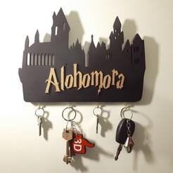Download 3D printing templates Portallave Alohomora, 3dokinfo
