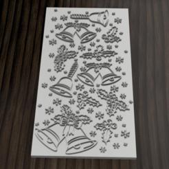 texturizador navidad 12.png Télécharger fichier STL Texturiseur // Marqueur Motif de Noël • Modèle à imprimer en 3D, 3dokinfo