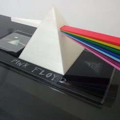 Download STL file Pink Floyd Lamp - dark side of the moon, 3dokinfo