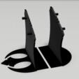 Descargar modelo 3D book holder star wars - millennium falcon, 3dokinfo