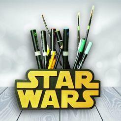 Descargar modelos 3D  Star Wars Pencil Holder, 3dokinfo