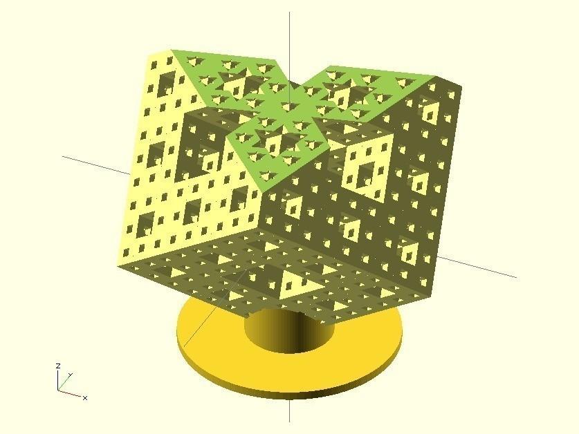 menger1.jpg Download free STL file Technical sheets of my library • 3D printing design, Rem38