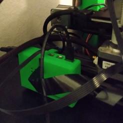 OctoprintCase.jpg Télécharger fichier STL gratuit Framboise Pi 4 : un cas pour OctoPrint • Modèle pour imprimante 3D, tinkerer89