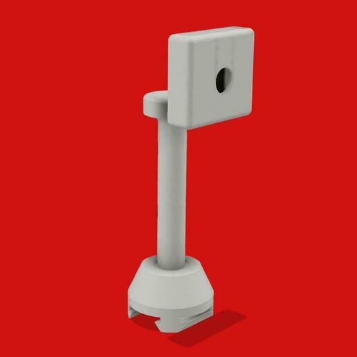 CameraMount_v30.jpg Download free STL file Ender 3 Raspberry PI Camera Mount • 3D printable design, tinkerer89