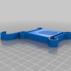FanGuard.png Download free STL file Ender 3 Stock Fan Guard for Maintenance • Object to 3D print, tinkerer89