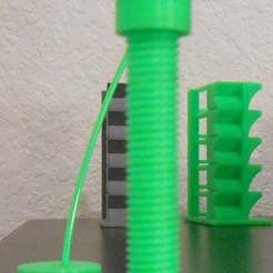 Download free 3D printing models Ikea Table Filament Guide Passthrough, tinkerer89