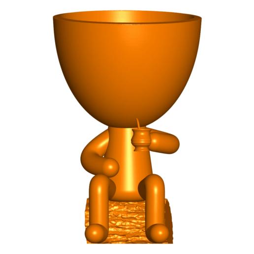Robert Mate_5.png Télécharger fichier STL gratuit Vase pot de fleurs Argentine Uruguayen Mate Robert Plant - Vase pot de fleurs Argentine Uruguayen Mate Robert • Modèle imprimable en 3D, CREATIONSISHI