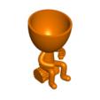 Robert Mate_1.png Télécharger fichier STL gratuit Vase pot de fleurs Argentine Uruguayen Mate Robert Plant - Vase pot de fleurs Argentine Uruguayen Mate Robert • Modèle imprimable en 3D, CREATIONSISHI