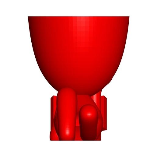 Vaso_101_Leyendo Libro_4.jpg Télécharger fichier STL gratuit Vase Pot de fleurs Robert lisant un livre • Plan imprimable en 3D, CREATIONSISHI