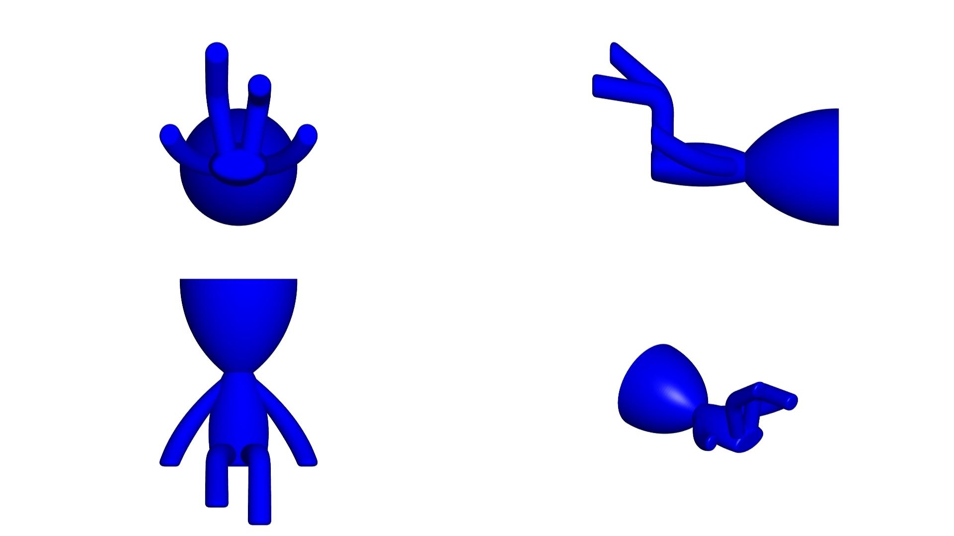 Vaso_105_Azul_2.jpg Télécharger fichier STL gratuit JARRÓN MACETA ROBERT 105 - VASE POT DE FLEURS ROBERT 105 • Objet à imprimer en 3D, CREATIONSISHI