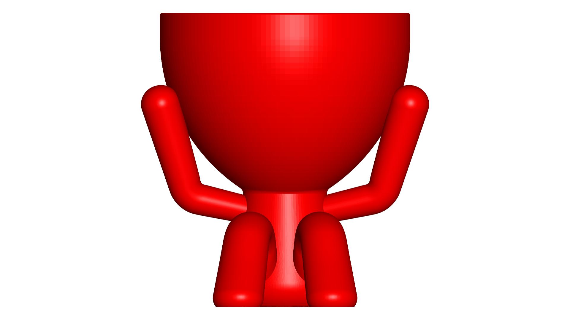 2_rojo_1.png Télécharger fichier STL gratuit Les 3 pots verres Robert Sabios Ne lit pas, n'écoute pas, ne voit pas - Les 3 pots verres Robert Sabios Ne lit pas, n'écoute pas, ne voit pas • Objet à imprimer en 3D, CREATIONSISHI