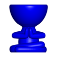 Download free OBJ file 2 Robert yoga vase - 2 Flowerpot Robert yoga • 3D printing model, CREATIONSISHI