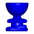 Rezando_5.png Télécharger fichier OBJ gratuit 2 vase Robert yoga - 2 pot de fleurs Robert yoga • Plan pour imprimante 3D, CREATIONSISHI