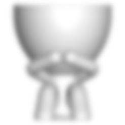 03_Final.stl Télécharger fichier STL gratuit POT DE VERRE ROBERT WISE JE NE PARLE PAS • Modèle pour impression 3D, CREATIONSISHI
