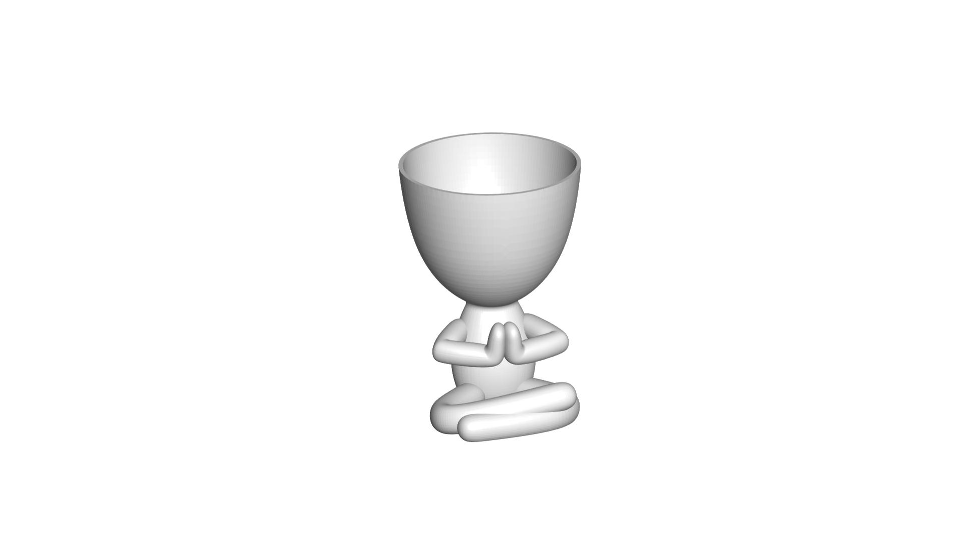 Vaso_17_Blanco_1.jpg Télécharger fichier STL gratuit JARRÓN MACETA ROBERT 17 - VASE POT DE FLEURS ROBERT 17 • Modèle à imprimer en 3D, CREATIONSISHI
