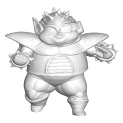 Télécharger fichier STL gratuit Dragon Ball Z DBZ / Figurine miniature à collectionner Dragon Ball Z DBZ Dodoria • Objet pour impression 3D, CREATIONSISHI