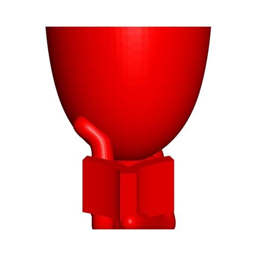 Vaso_101_Leyendo Libro_5.jpg Télécharger fichier STL gratuit Vase Pot de fleurs Robert lisant un livre • Plan imprimable en 3D, CREATIONSISHI