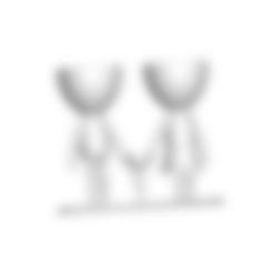 BASE.stl Télécharger fichier STL gratuit Vase de la famille de Robert Vase de fleurs Mère Papa Fils / Fille • Plan pour imprimante 3D, CREATIONSISHI