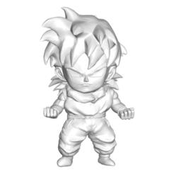 Télécharger fichier STL gratuit Dragon Ball Z DBZ / Figurine miniature de collection Dragon Ball Z DBZ Johan • Plan à imprimer en 3D, CREATIONSISHI