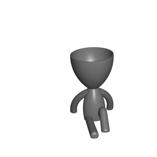 Vaso_102_Gris_1.jpg Télécharger fichier STL gratuit JARRÓN MACETA ROBERT 102 - VASE POT DE FLEURS ROBERT 102 • Plan pour imprimante 3D, CREATIONSISHI