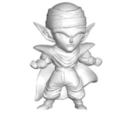 Télécharger fichier STL gratuit Dragon Ball Z DBZ / Figurine miniature de collection Dragon Ball Z DBZ Piccolo • Design pour impression 3D, CREATIONSISHI
