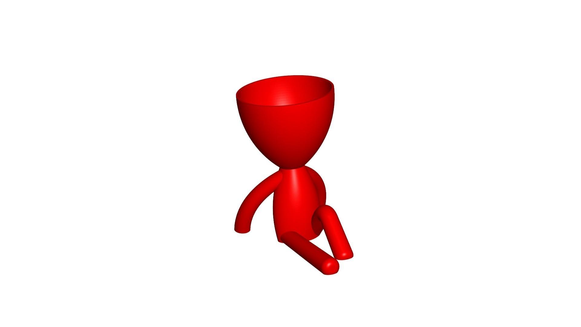 Vaso_102_ROJO_1.jpg Télécharger fichier STL gratuit JARRÓN MACETA ROBERT 102 - VASE POT DE FLEURS ROBERT 102 • Plan pour imprimante 3D, CREATIONSISHI