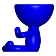 Rezando_7.png Télécharger fichier OBJ gratuit 2 vase Robert yoga - 2 pot de fleurs Robert yoga • Plan pour imprimante 3D, CREATIONSISHI