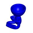 Rezando_4.png Télécharger fichier OBJ gratuit 2 vase Robert yoga - 2 pot de fleurs Robert yoga • Plan pour imprimante 3D, CREATIONSISHI