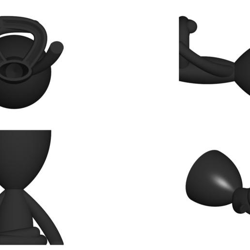 Vaso_104_Negro_2.jpg Télécharger fichier STL gratuit JARRÓN MACETA ROBERT 104 - VASE POT DE FLEURS ROBERT 104 • Objet pour imprimante 3D, CREATIONSISHI