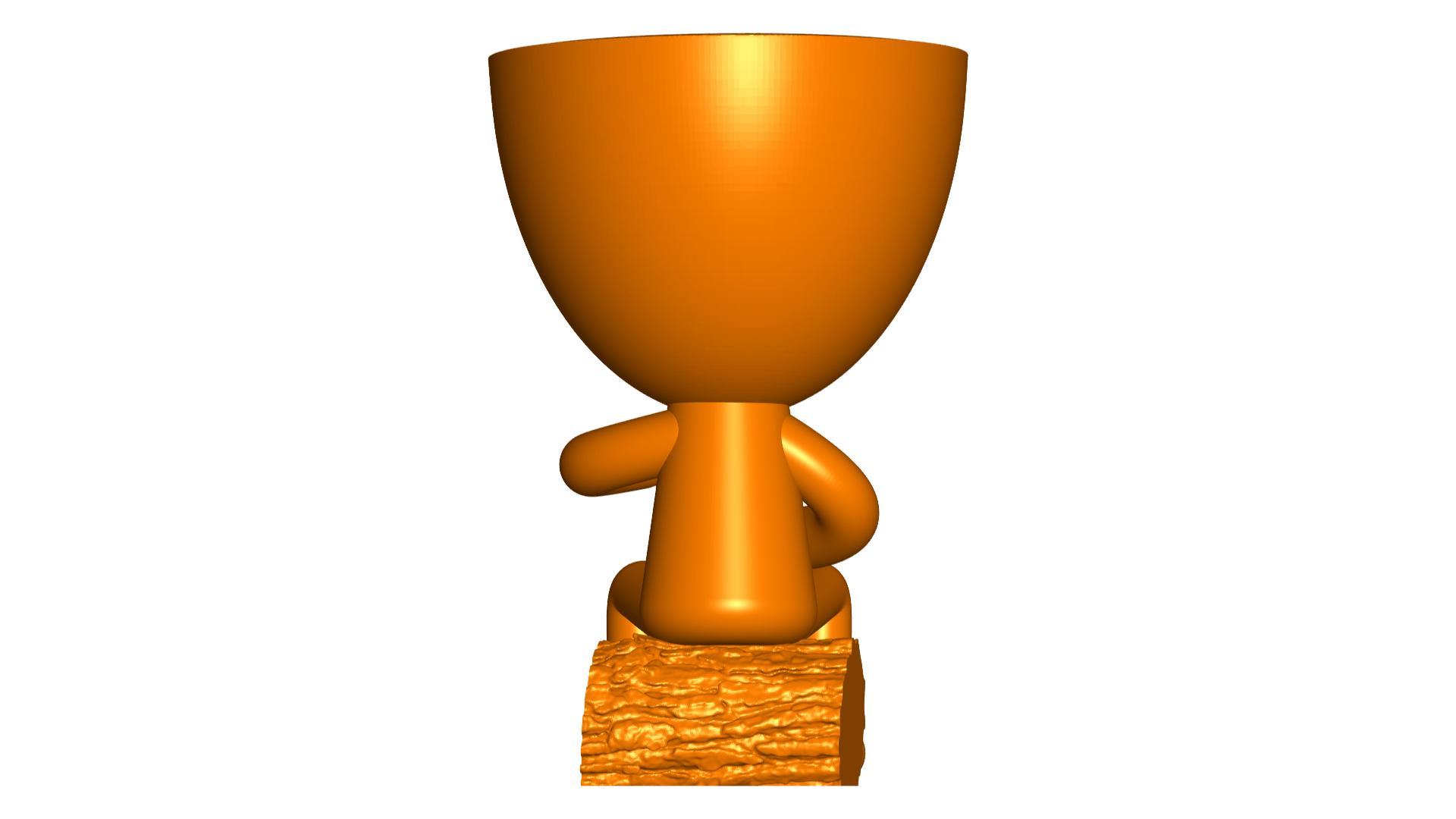 Robert Mate_4.png Télécharger fichier STL gratuit Vase pot de fleurs Argentine Uruguayen Mate Robert Plant - Vase pot de fleurs Argentine Uruguayen Mate Robert • Modèle imprimable en 3D, CREATIONSISHI