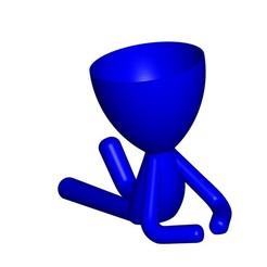 Télécharger fichier STL gratuit JARRÓN MACETA ROBERT 103 - VASE POT DE FLEURS ROBERT 103 • Plan à imprimer en 3D, CREATIONSISHI
