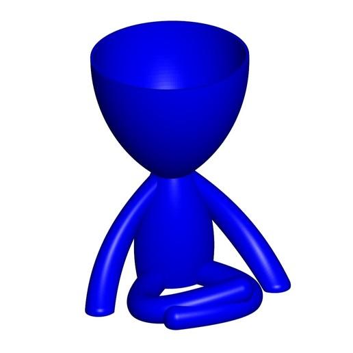 Vaso_104_Azul_1.jpg Télécharger fichier STL gratuit JARRÓN MACETA ROBERT 104 - VASE POT DE FLEURS ROBERT 104 • Objet pour imprimante 3D, CREATIONSISHI