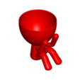 1_rojo_2.png Télécharger fichier STL gratuit POT GLASS ROBERT SABIOS NO VE - LE POT GLASS ROBERT SABIOS NE VOIT PAS • Design à imprimer en 3D, CREATIONSISHI