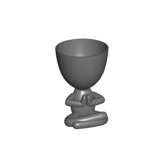 Vaso_17_Gris_1.jpg Télécharger fichier STL gratuit JARRÓN MACETA ROBERT 17 - VASE POT DE FLEURS ROBERT 17 • Modèle à imprimer en 3D, CREATIONSISHI