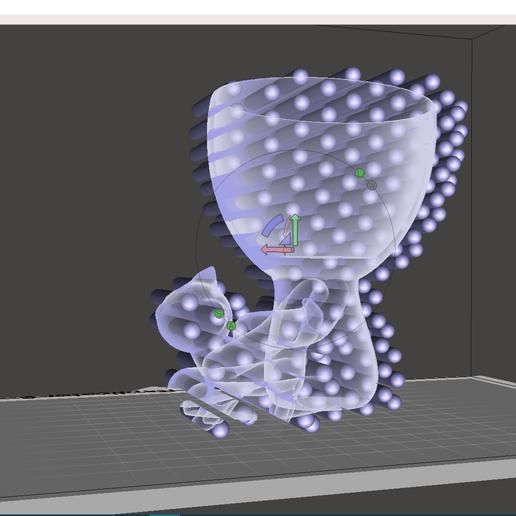 Rober mesh.PNG Télécharger fichier STL gratuit Vase Robert Planter avec l'animal de compagnie n° 111 • Design imprimable en 3D, CREATIONSISHI